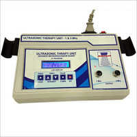 LCD Ultrasonic Therapy Unit