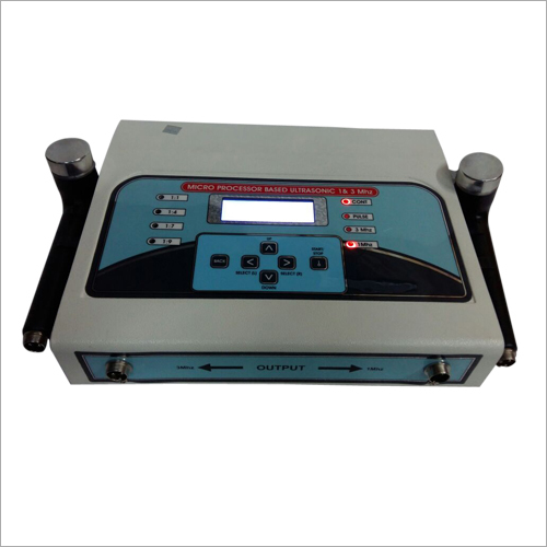 Microprocessor Base Ultrasonic Machine