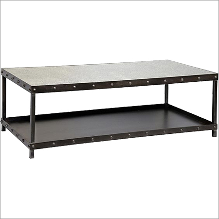 Coffee Table With Rivets