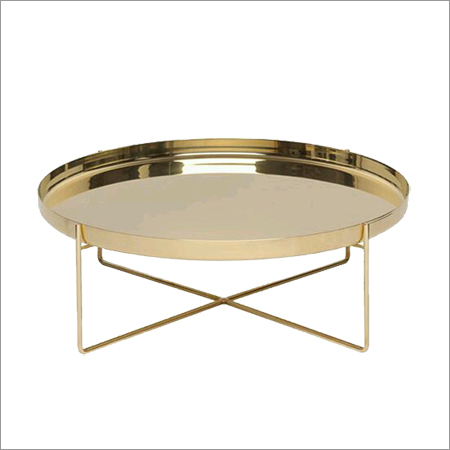 Golden Coffee Table
