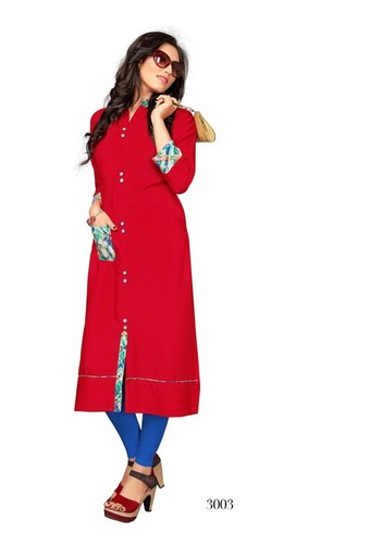 Ladies Kurti in Rayon