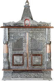 Aluminium coated temple