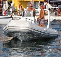 19ft Semi Rigid Inflatable Rib Boat