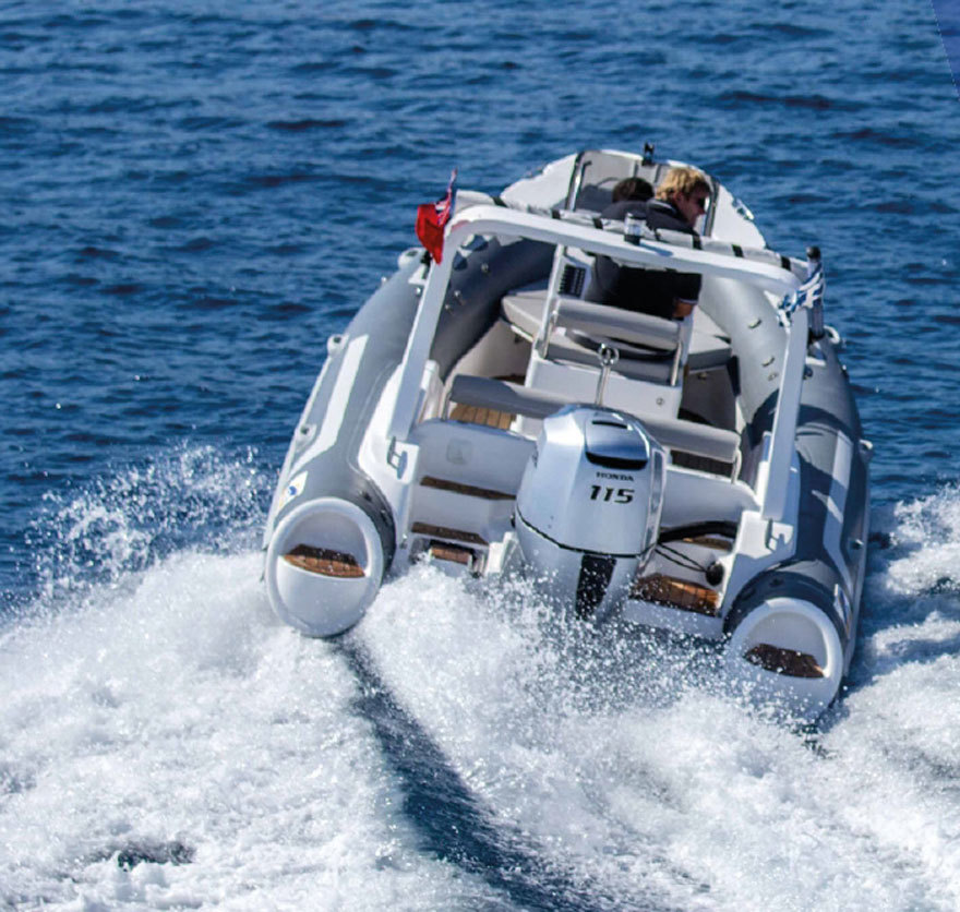 Liya 19ft/5.2m Hypalon RIB Inflatable Boat