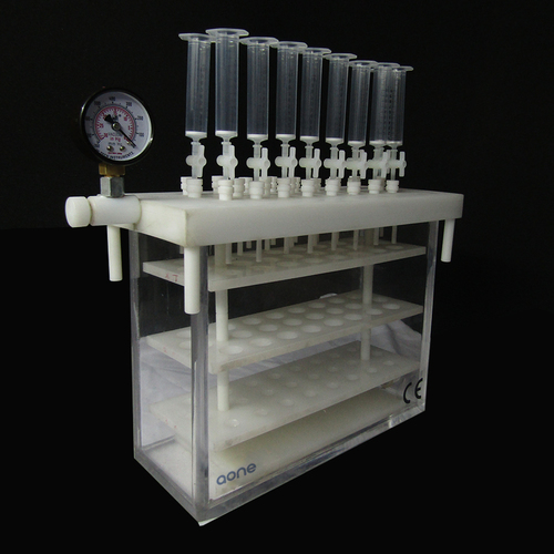 SPE VACUUM FILTRATION MANIFOLD