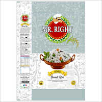 Mr Right Basmati Rice 25kg Silver