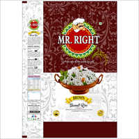 Mr Right Basmati Rice 25kg Brown