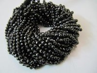 AAA Quality Black Cubic Zirconia Beads