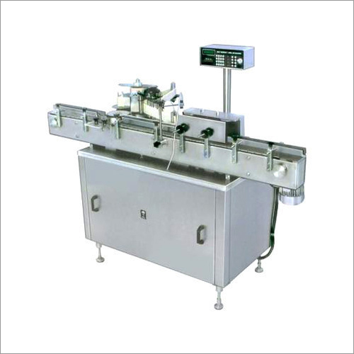 Fully Automatic Bottle Sticker Labeling Machine