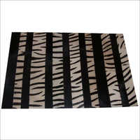 Victory exim Hair on Leather Priented  Rug