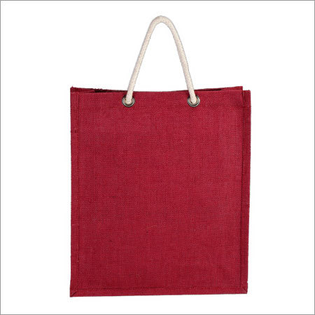Colored Jute Bottle Bag