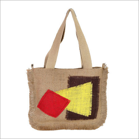 Ladies Designer Jute Bag