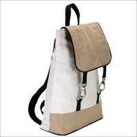 Ladies Jute Backpack