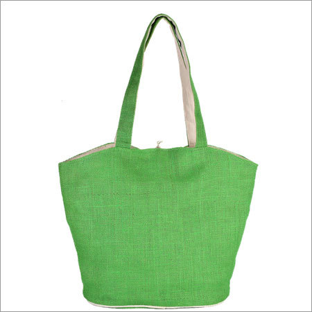 Jute Cotton Reversible Bags