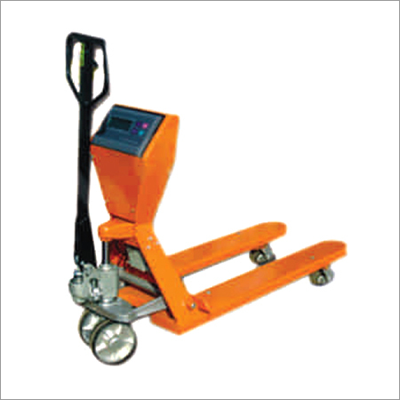 Weight Pallet Scale Truck
