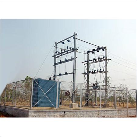 4 Pole Structure