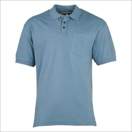 Mens Short Sleeve Collar T-Shirt