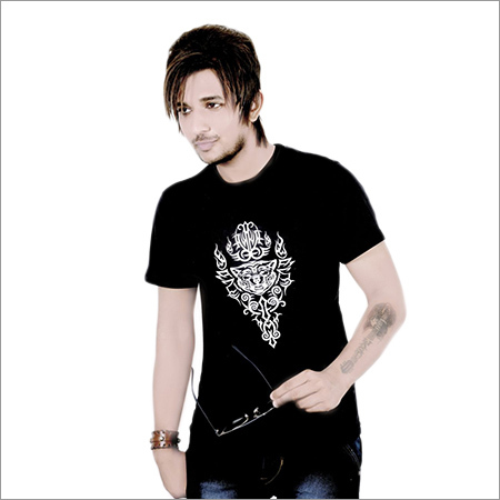 Men's Round Neck Printed T-Shirt