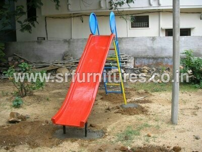 Playground Red Slide