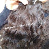 wavy hair,Temple Indian wavy human