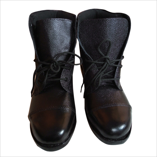 Army High Ankle Leather Boot