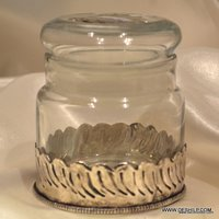 Ophelia Glass Spice Jar Glass Jars