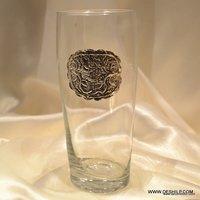 Libbey Heavy Base Tea Glasses Personalized Mason Drinking Jars Artisan Crafted