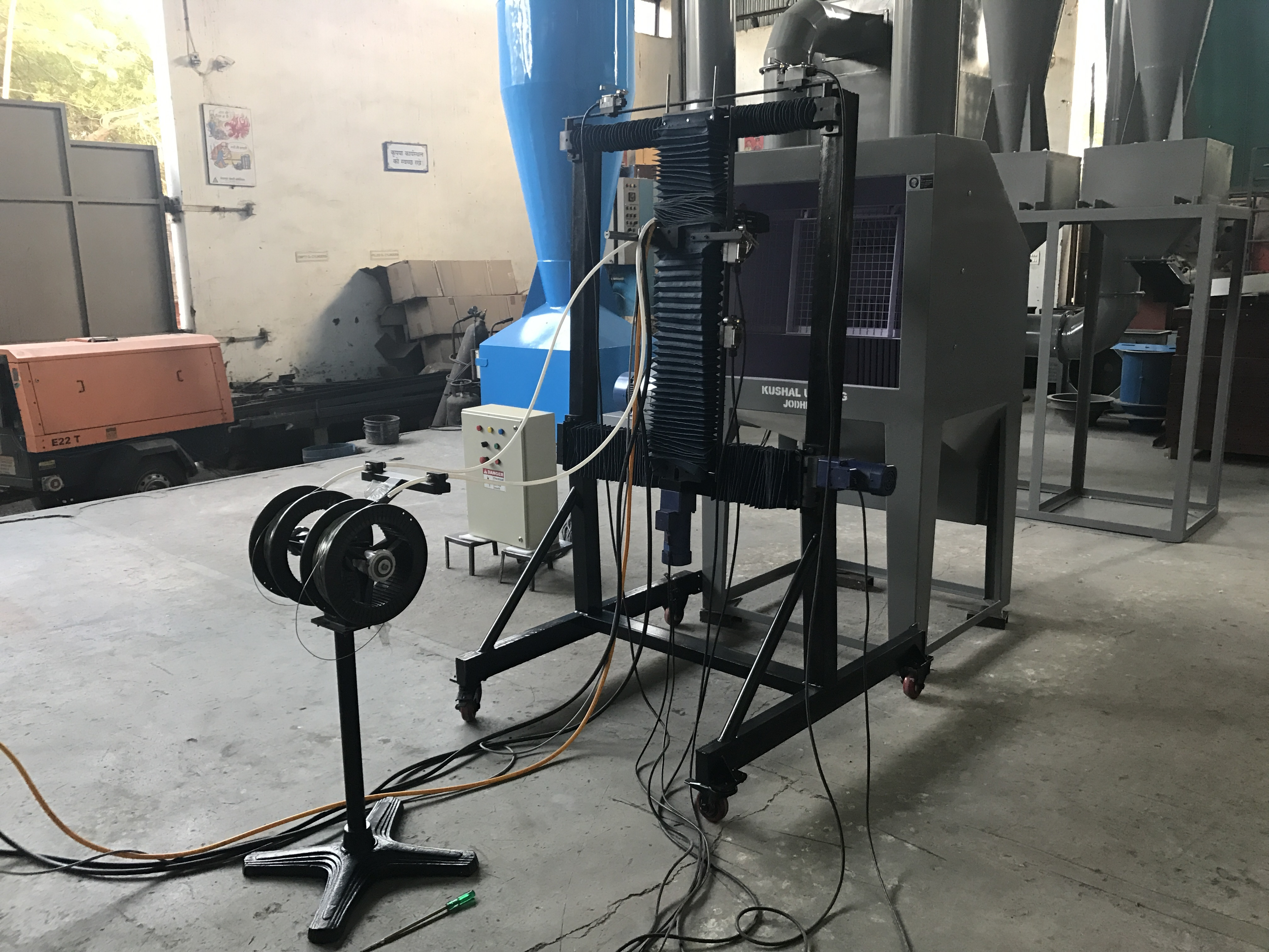 Capacitor Arc Spray System