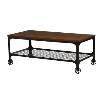 Coffee Table With Trolley
