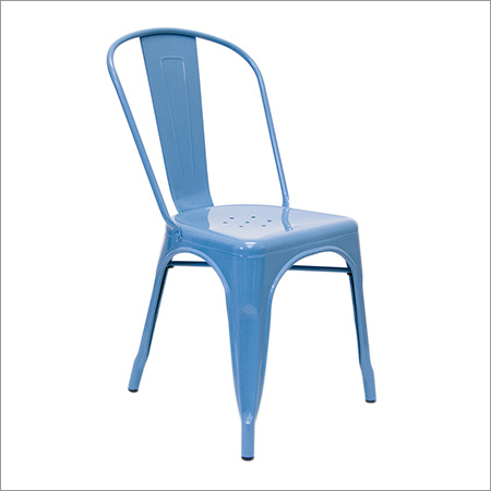 Tolix Blue Chair