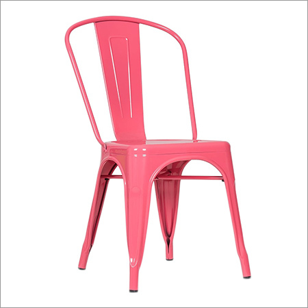 Tolix Pink Chair