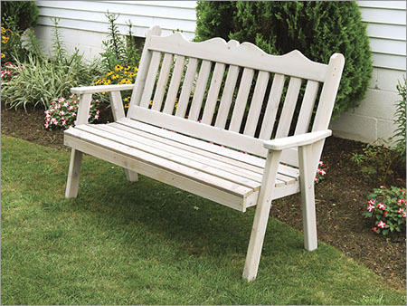 Royal English Grey Garden Bench