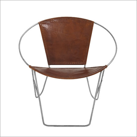 Leather Round Chair