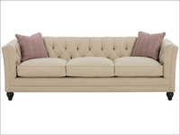 Isadore Designer Style Tufted Back Fabric Sofa Group