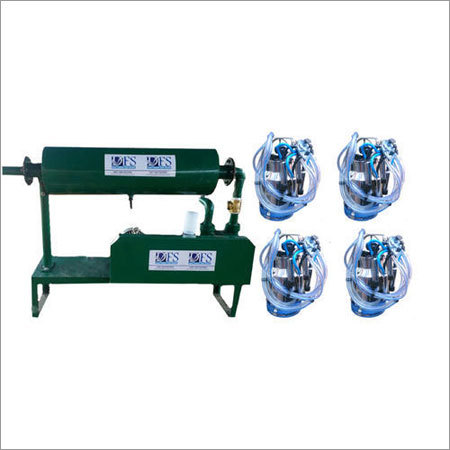 Fix Four Bucket Milking Machine