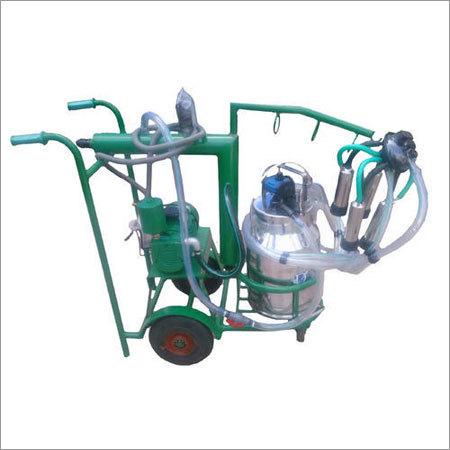 Trolley Single Bucket Milking Machine