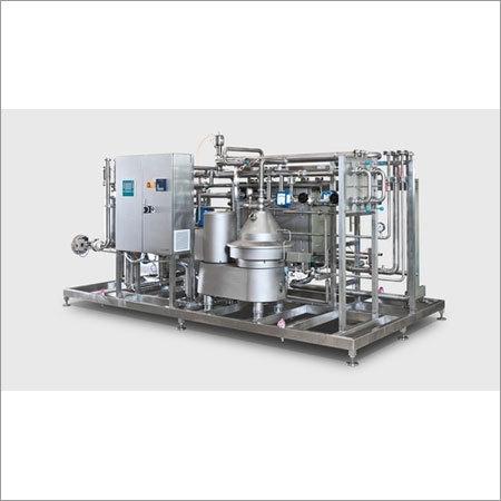 Milk Pasteurization Plant