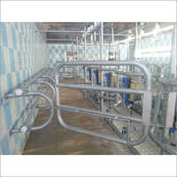 4 Point Swing Over Milking Parlor