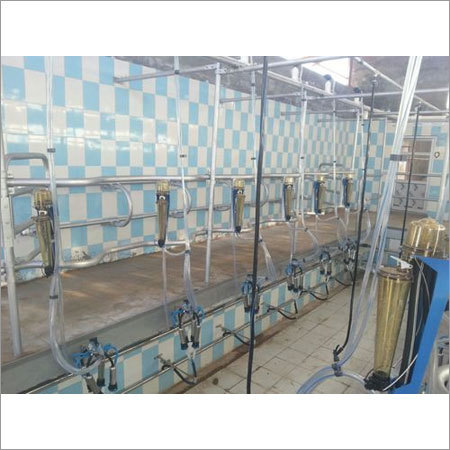 6 Point Swingover Milking Parlor