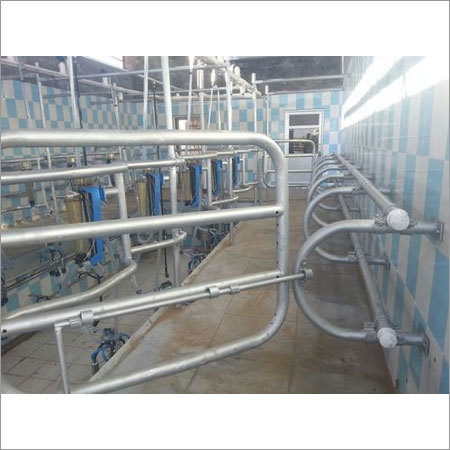 12 Point Swingover Milking Parlor