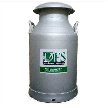 Aluminium Milk Storage Can