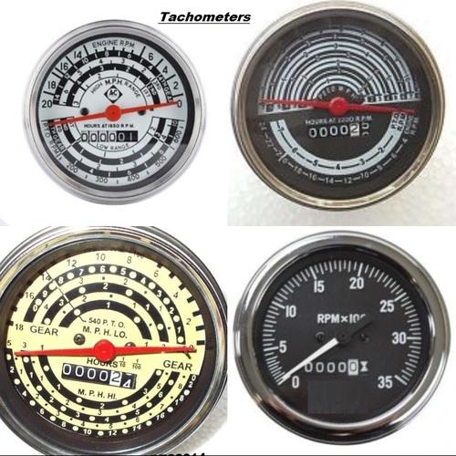 Allis Chalmer Vintage Tractor Meter