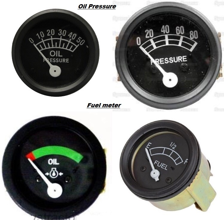 Ford Oil Pressure and fuel