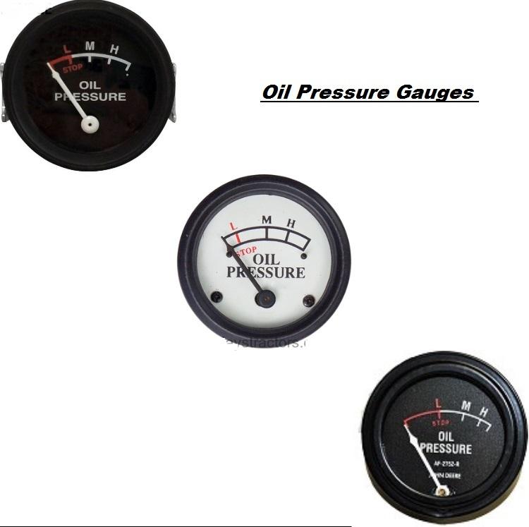J.D Oil pressure