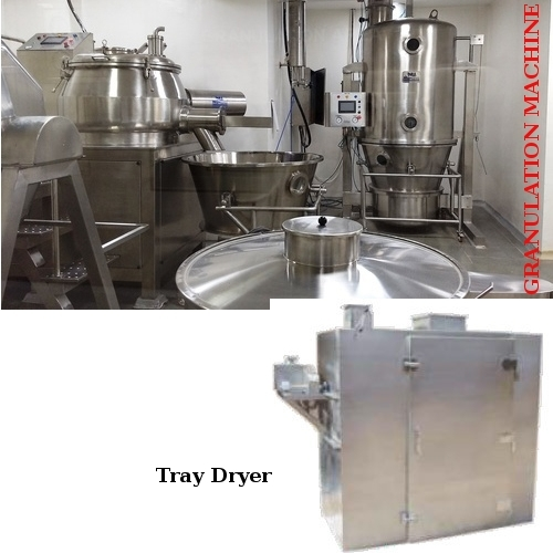 Granulation Machine & Tray Dryer