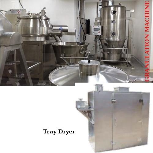 Granulation Machine & Tray Dryer