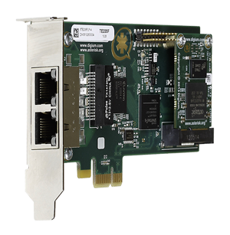 Digium's Te235f Dual Span Digital Interface Cards