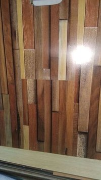 Wooden Lining Wallpaper