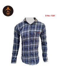 Men's Cotton Checks Shirts