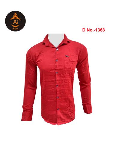 Men's Latest Checks Cotton Shirt